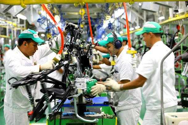 producao 2 Honda, Kawasaki, Suzuki e Yamaha param a produção no Japão