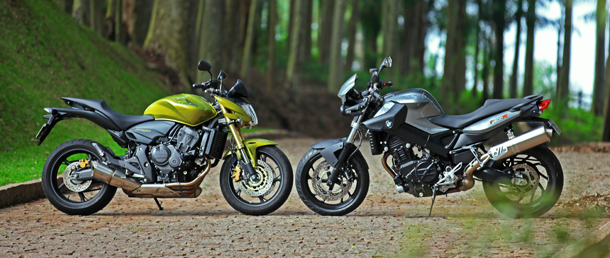 duas 610 BMW F 800 R x Honda CB 600F Hornet