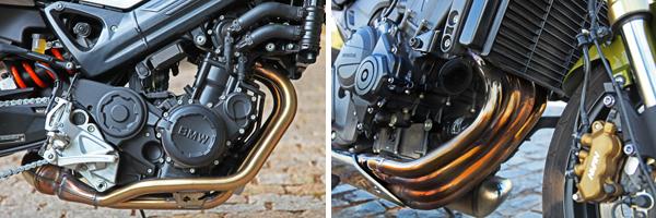 motor 2 ou 4 cil.1 BMW F 800 R x Honda CB 600F Hornet