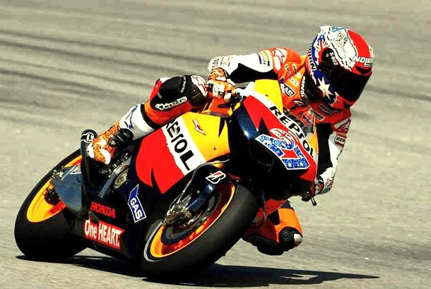 Casey Stoner MotoGP 20111 MotoGP chega à Itália, veja como está o clima para corrida em Mugello
