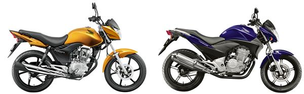 Honda CB 300R e CG 150