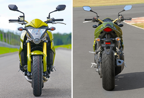 Dupla CB1000 R 1 Impressões: Honda CB 1000R   A gigante se mexeu, e quer seu espaço na categoria