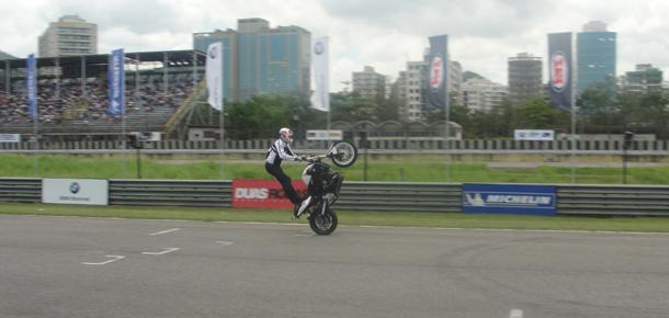 Cris Pfeiffer 1 Alan Douglas e Dudu Rush. Campeões na Moto 1000 GP 2011