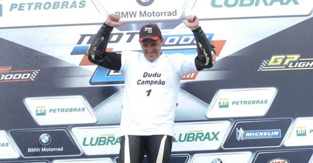 Light 2 Alan Douglas e Dudu Rush. Campeões na Moto 1000 GP 2011