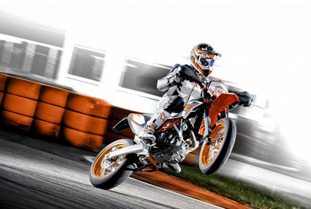 Ktm apresenta a supermoto 690 smc r 2012 not cias sobre - Comment dessiner une moto cross ...