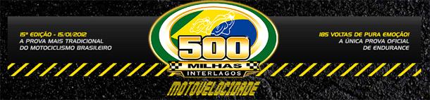 500 milhas logo 500 Milhas de Interlagos é no próximo dia 15