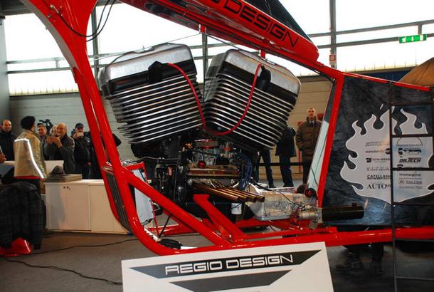 regio design al motor bike expo 2012 11 Salão de Verona apresenta a maior moto do mundo!
