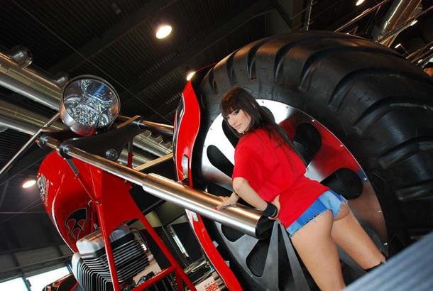regio design al motor bike expo 2012 13 Salão de Verona apresenta a maior moto do mundo!