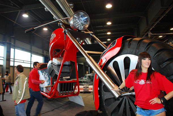 regio design al motor bike expo 2012 14 Salão de Verona apresenta a maior moto do mundo!