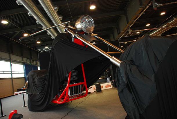regio design al motor bike expo 2012 2 Salão de Verona apresenta a maior moto do mundo!