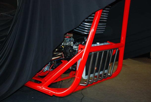 regio design al motor bike expo 2012 3 Salão de Verona apresenta a maior moto do mundo!