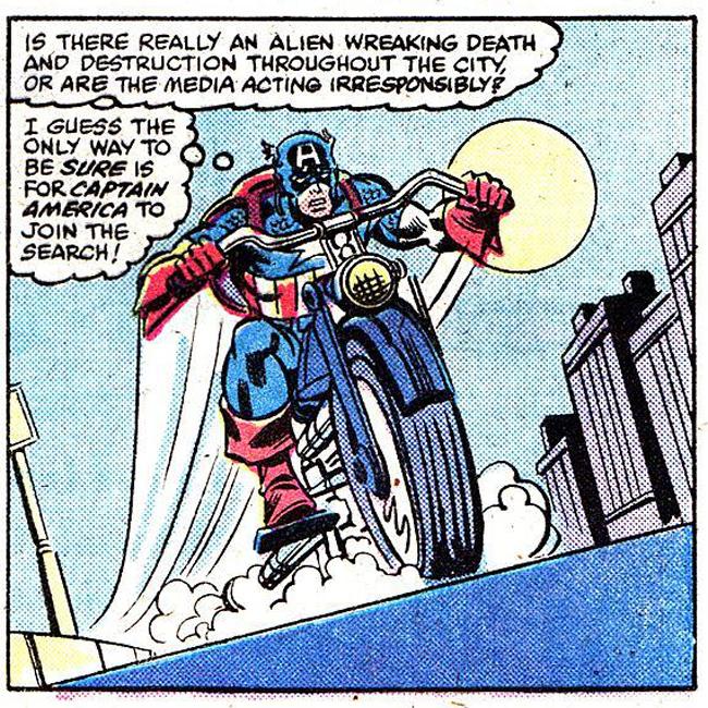 captainamericapersecutesrom Heróis dos quadrinhos em duas rodas