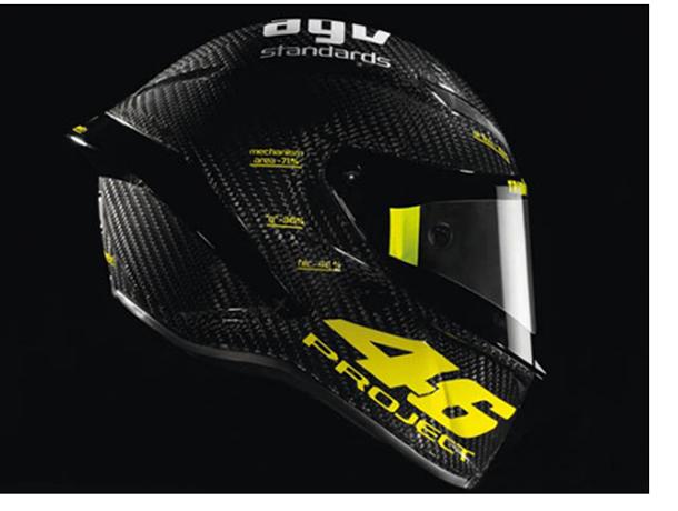 casco agv pistagp velntino rossi 280312 15 thumb e1 AGV lança capacete feito sob medida