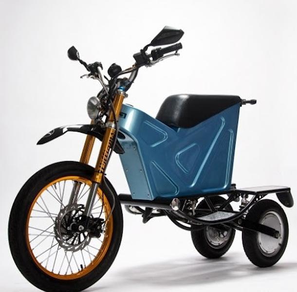 deliver etrike 5 Curiosidade: australiano inventa moto elétrica para carteiros