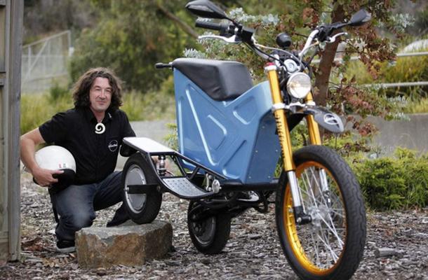 williams deliver e trike 1 Curiosidade: australiano inventa moto elétrica para carteiros